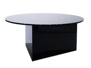 Friends & Founders Pond Glass Coffee Table
