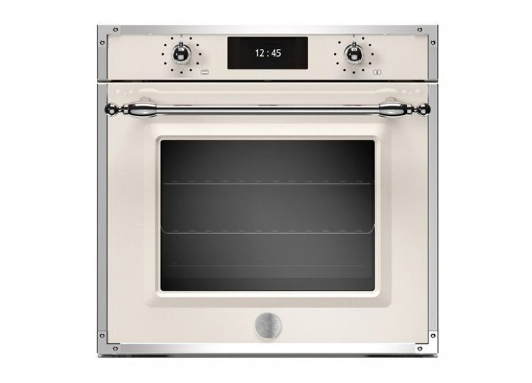 Bertazzoni Heritage 60cm Electric Pyro Built-in Oven (Avorio/Stainless)