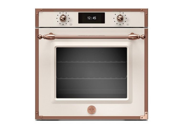 Bertazzoni Heritage 60cm Electric Pyro Built-in Oven (Avorio/Copper)