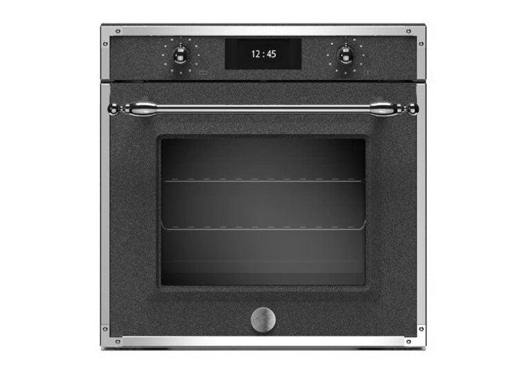 Bertazzoni Heritage 60cm Electric Pyro Built-in Oven (Nero Décor)