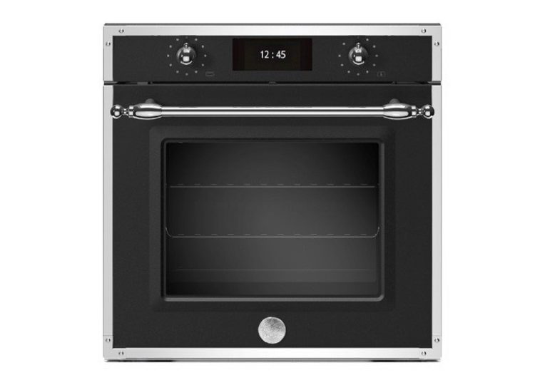 Bertazzoni Heritage 60cm Electric Pyro Built-in Oven (Nero Matte)
