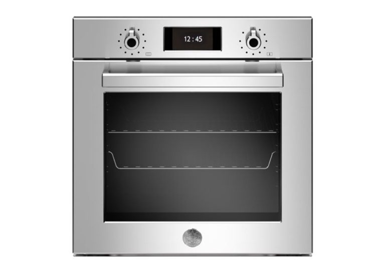 Bertazzoni Professional 60cm Electric Pyro Built-in Oven (Steel)