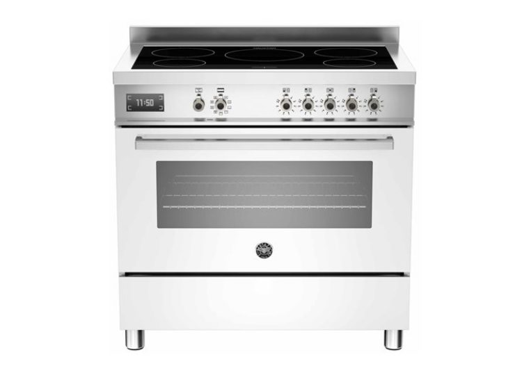 Bertazzoni Professional 90cm Induction Cooktop + Electric Oven (Bianco)