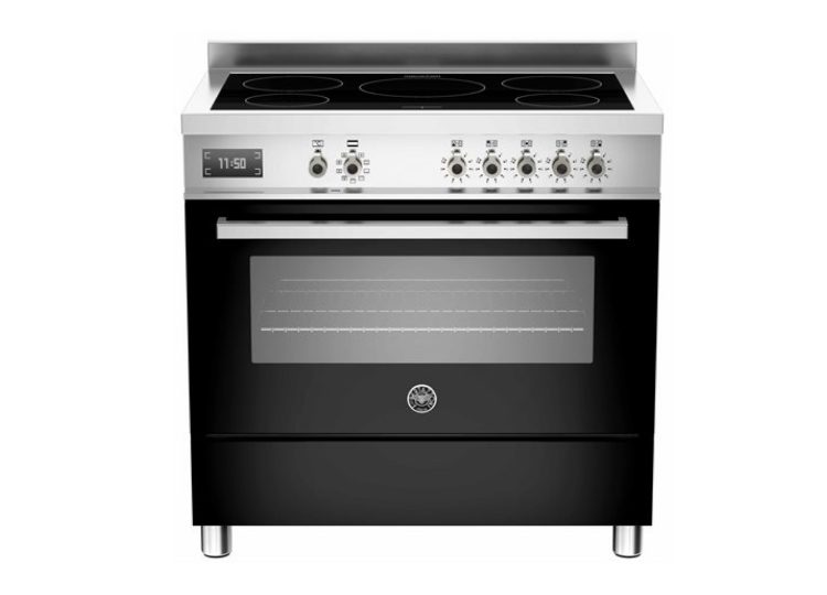Bertazzoni Professional 90cm Induction Cooktop + Electric Oven (Nero)
