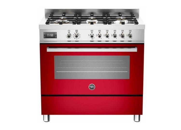 est living bertazzoni professional 90cm 6 burner electric oven rosso 750x540