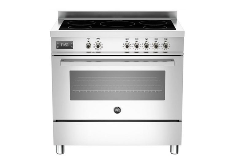 Bertazzoni Professional 90cm Induction Cooktop + Electric Oven (Stainless Steel)