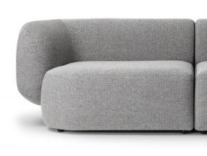 Biasol Comoda 2 Piece Modular Sofa (Fabric)