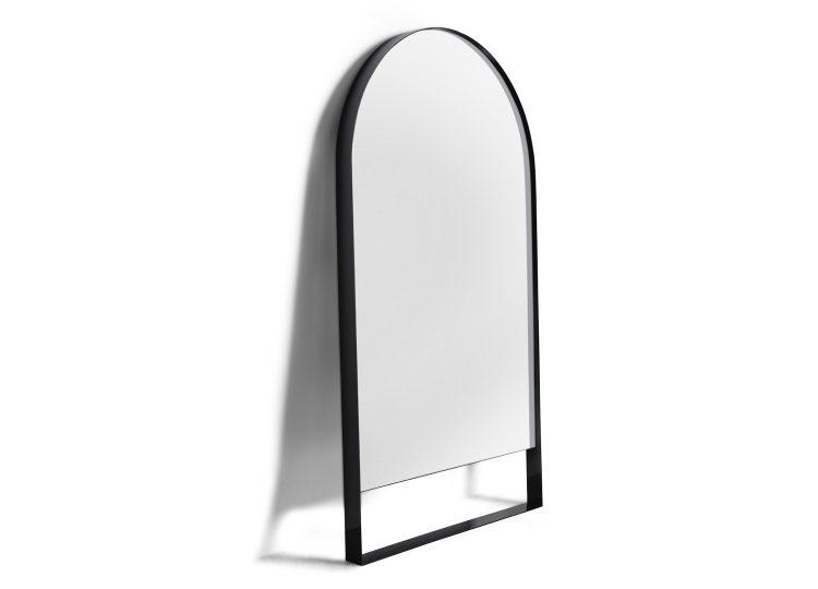 Biasol Tondo Arch Mirror 1550H x 900W (Black Ace Flat)