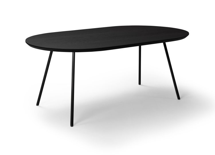 Biasol Tre Mezzo 750H Indoor 1600 Oval Dining Table