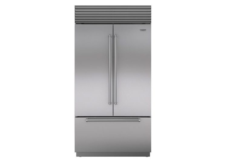 Sub-Zero Classic Series French Door Refrigerator/Freezer with Internal Dispenser