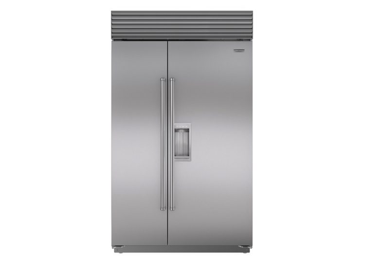 est living sub zero classic series side by side refrigerator freezer with dispenser 750x540