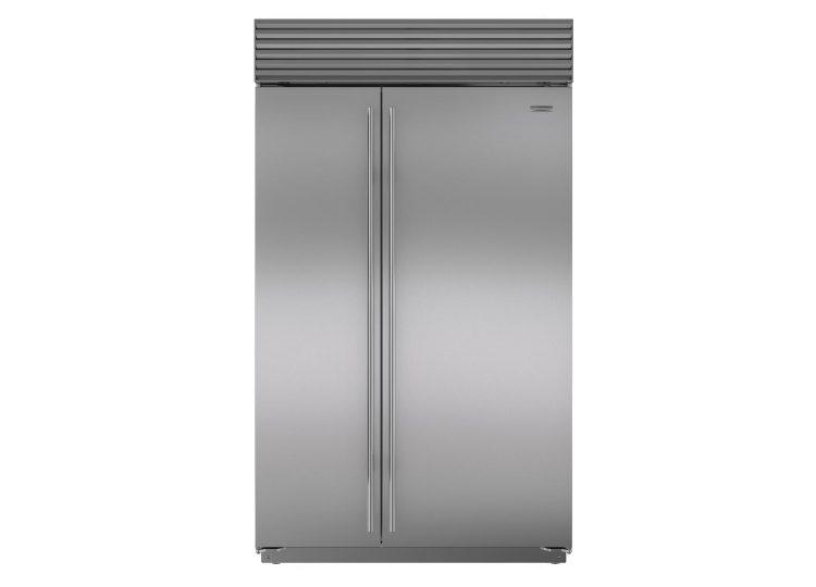 est living sub zero classic series side by side refrigerator freezer with internal dispenser 750x540