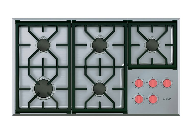 Wolf Professional Gas Cooktop