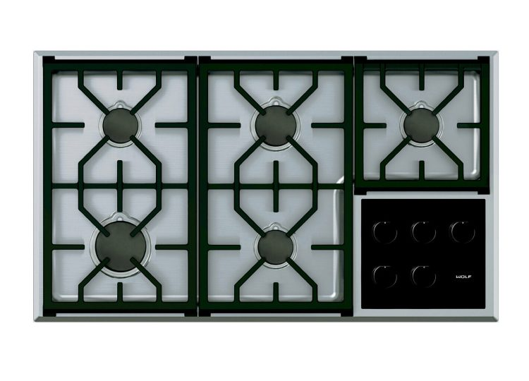 Wolf Transitional Gas Cooktop