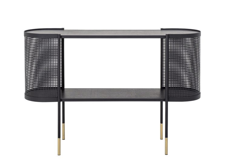 Bloomingville Midou Console Table (Black Metal)