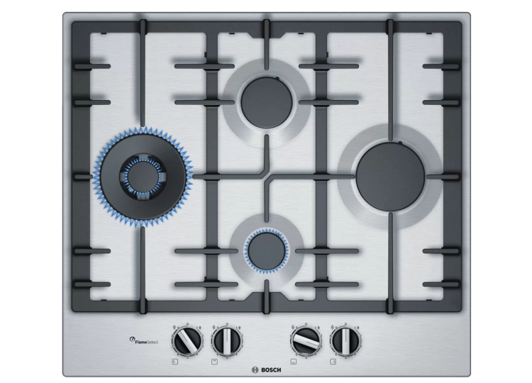 est living Series 6 Gas cooktop60 Stainless steel product library 01 750x540