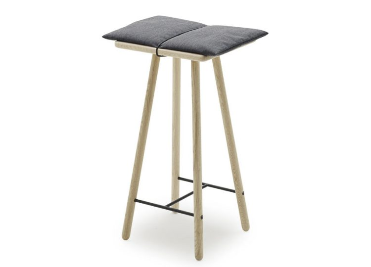 Skagerak Georg Counter Bar Stool (Oak /Dark Grey)