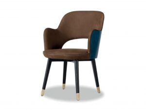 Baxter Colette Chair with Armrests