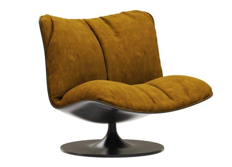 Baxter Marilyn Revolving Armchair