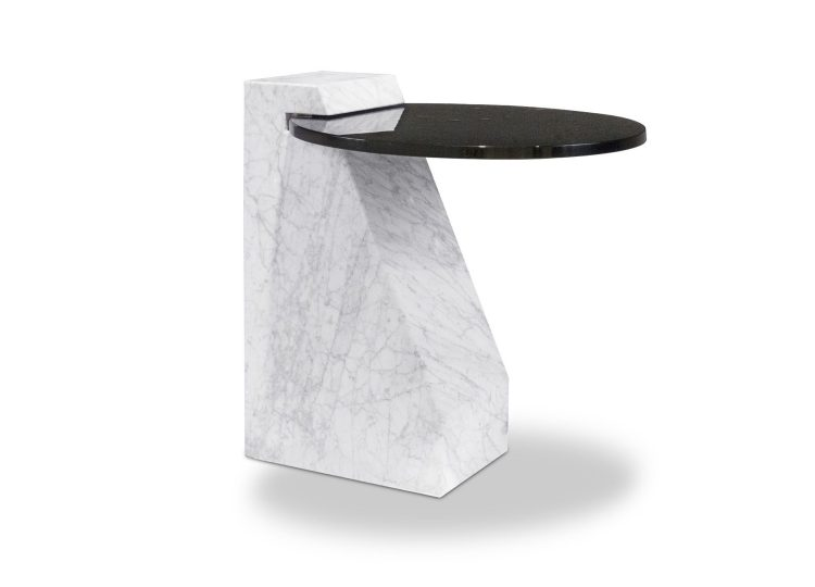 Baxter Verre Particulier Side Table 56x50x57 cm