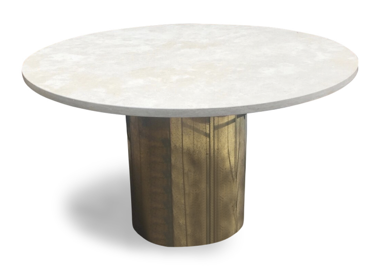 Specified Store Brass Base Table (Indoor/Outdoor)