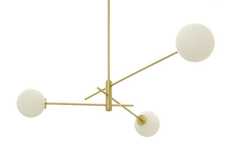CTO Lighting Trevi 3 Pendant