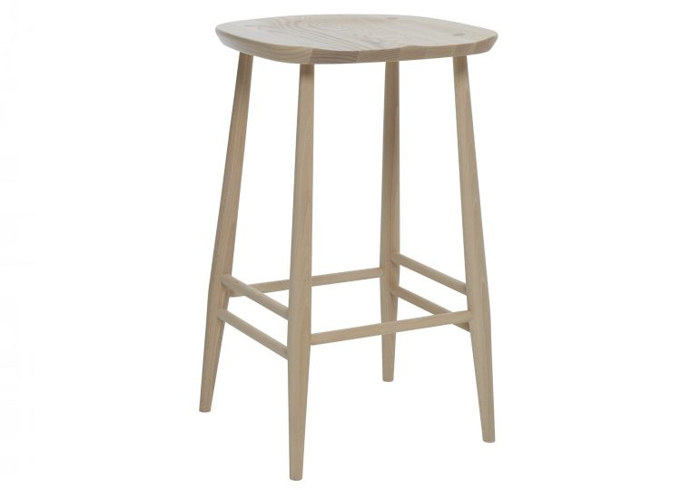 Ercol Originals Bar Stool With Back