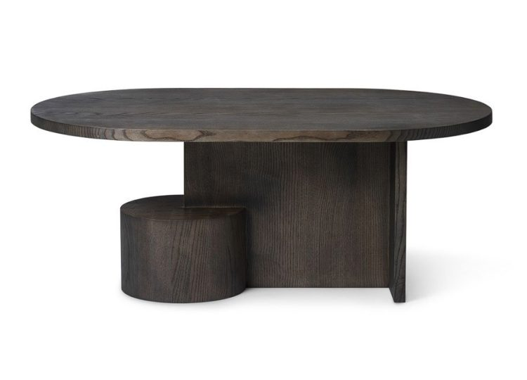 Ferm Living Insert Coffee Table (Black Stained Ash)