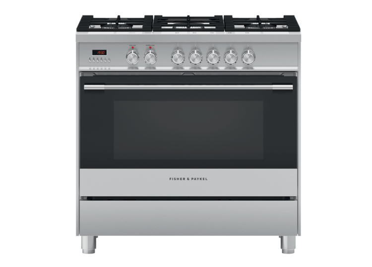 Fisher & Paykel Series 9 | 90cm Freestanding Dual Fuel Cooker 90cm with 5 Burners