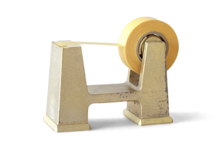 Specified Store Futugami Brass Tape Dispenser