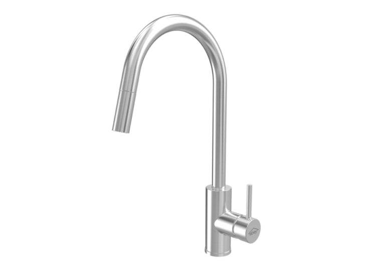 Gareth Ashton 316 Goose Neck Pull Out Kitchen Mixer