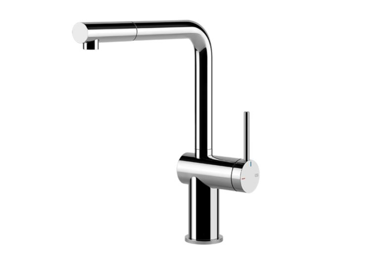 Gessi Inedito Pull Out Kitchen Mixer