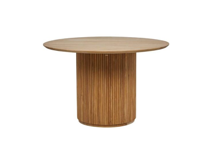 Globewest Tully Round Dining Table (Natural Teak)
