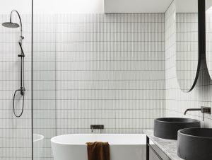 Bathroom 1 | Henry Street Townhouse Bathroom by Maria Danos Architecture