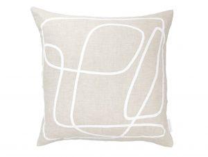 Middle of Nowhere Peridot White Cushion