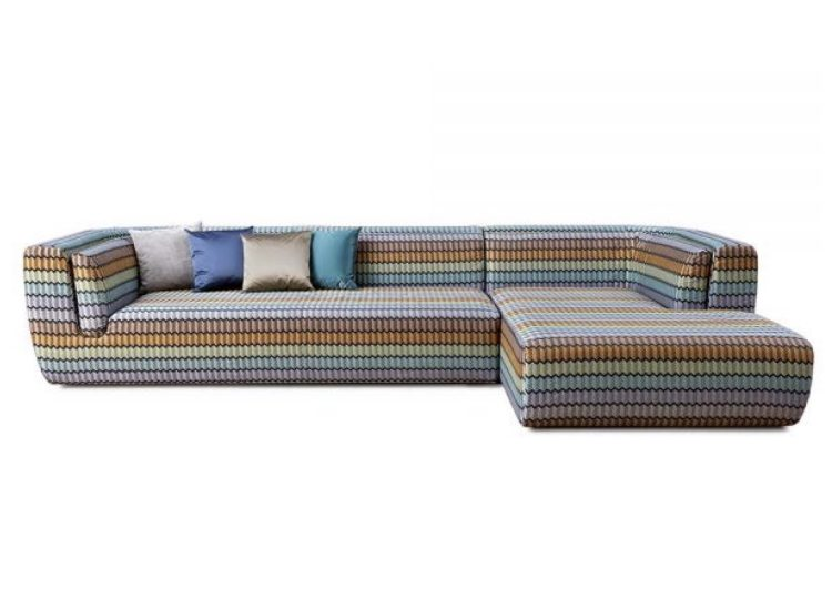 Missoni Home Inntil Sectional Sofa