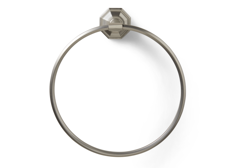 Pittella Art Deco Towel Ring
