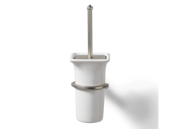 Pittella Art Deco Wall Mounted Toilet Brush
