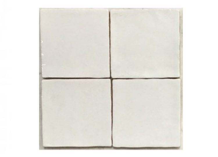 Surface Gallery Handmade Wall Tile – White Gloss