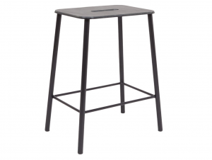 Frama Adam Counter Indoor/Outdoor Counter Stool (Black)