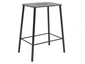 Frama Adam Counter Indoor/Outdoor Counter Stool (Black)