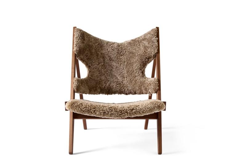 Menu Knitting Lounge Chair (Sheepskin)