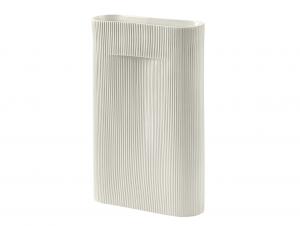 Mutto Ridge Vase (White)