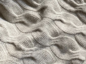 Bemboka Chunky Cable Angora & Merino Wool Throw