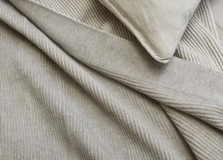 Bemboka Reversible Rib Cotton Throw