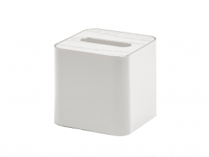 Square Tissue Box (White)
