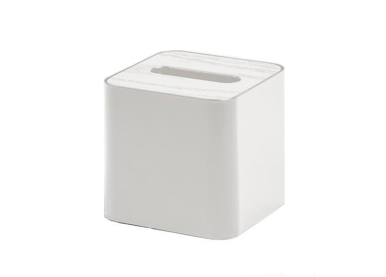 Designstuff Square Tissue Box (White)