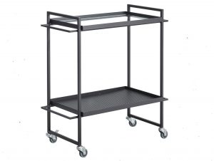 Kristina Dam Studio Bauhaus Drinks Trolley/ Bar Cart