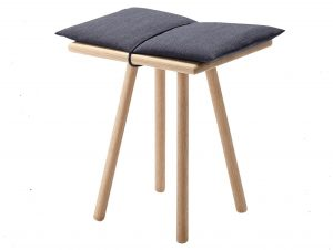 Skagerak Georg Stool (Oak/Dark Grey)