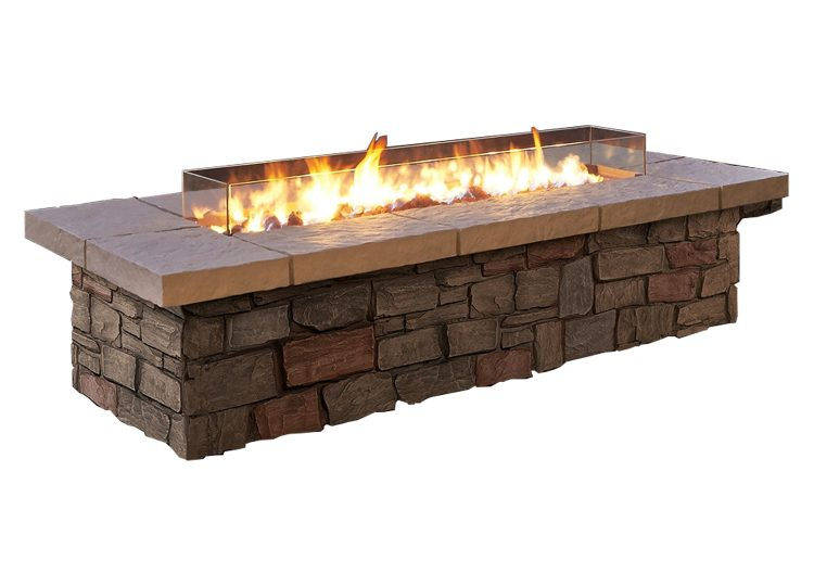 Real Flame Pit Fire